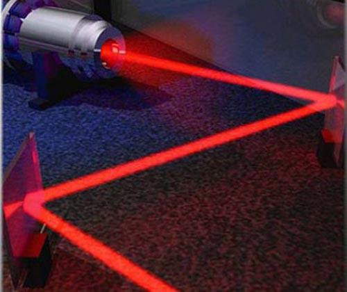 например рубиновый лазер,